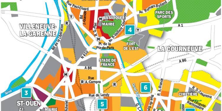 Immobilier à St-Ouen, Aubervilliers et St-Denis : la carte des prix 2018