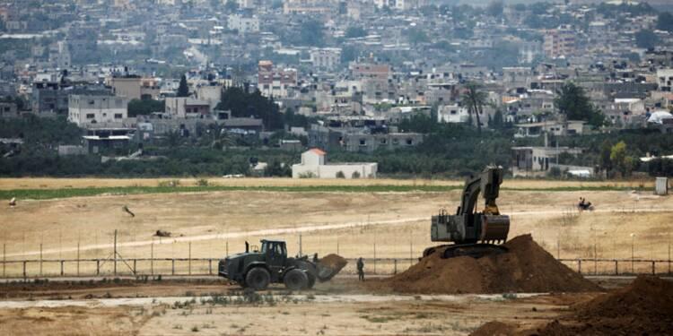 Israël détruit un tunnel à la limite avec la bande de Gaza