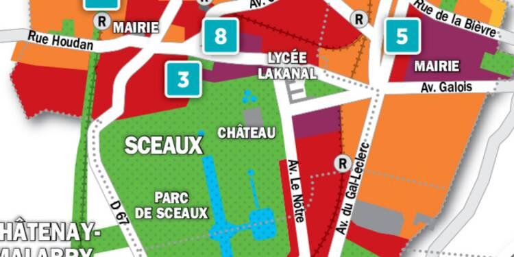 Immobilier à Antony, Bourg-la-Reine, Sceaux : la carte des prix 2018
