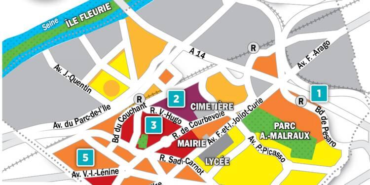 Immobilier à Nanterre : la carte des prix 2018
