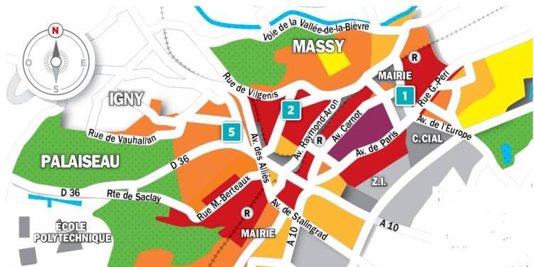 Immobilier à Massy et Palaiseau : la carte des prix 2018