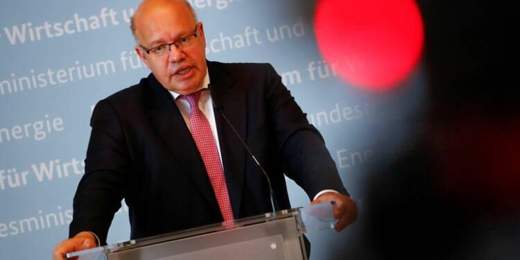Allemagne: La croissance portée par la demande interne, dit Altmaier