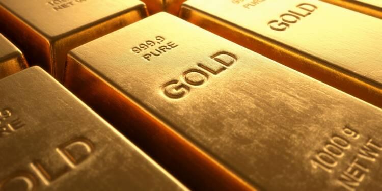 L'or décolle, profitant de son statut de valeur refuge face à la tourmente