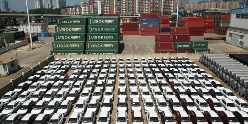 Le marché auto chinois recule, impacté par la guerre commerciale