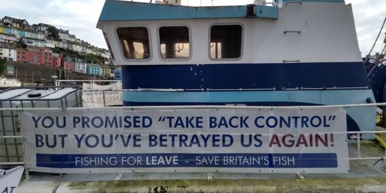 Accord sur le Brexit: les pêcheurs britanniques circonspects