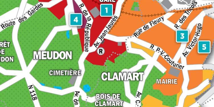 Immobilier à Clamart et Meudon : la carte des prix 2018