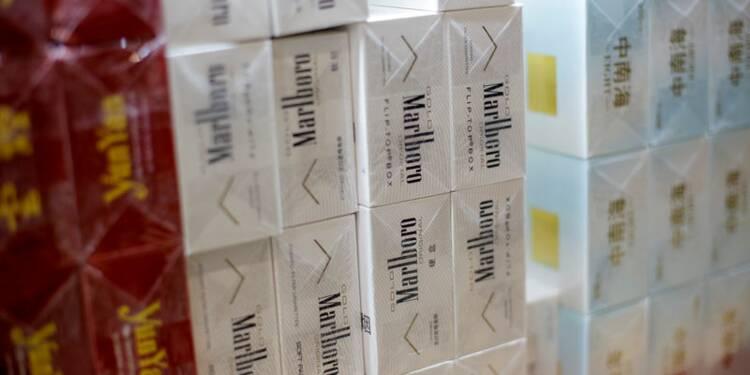 Philip Morris fait mieux que prévu au troisième trimestre, hausse du titre