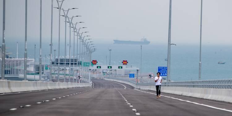 Chine : le pont le plus long du monde bientôt achevé