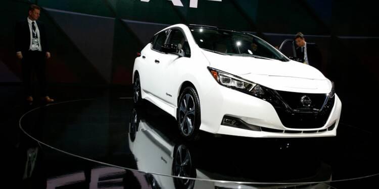 La Nissan Leaf pourra suppléer le réseau électrique en Allemagne