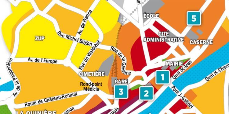 Immobilier à Blois : la carte des prix 2018