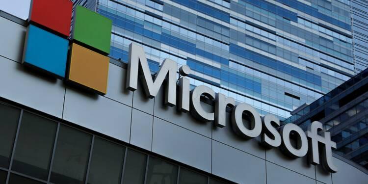 Microsoft bat le consensus au premier trimestre, le titre grimpe
