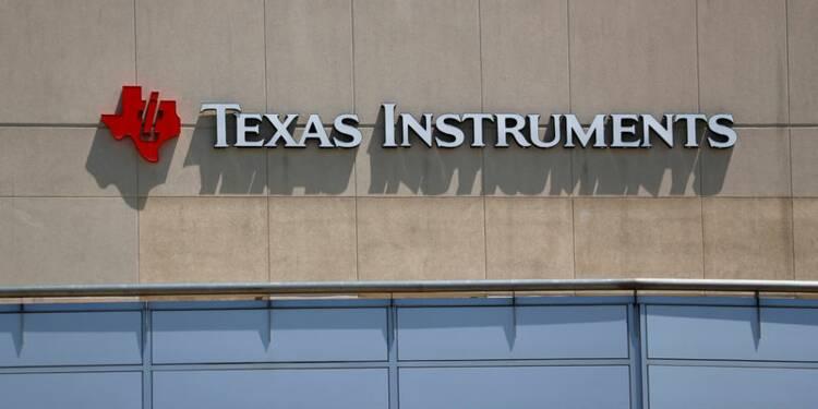 Texas Instruments déçoit sur son bénéfice du quatrième trimestre, l'action baisse