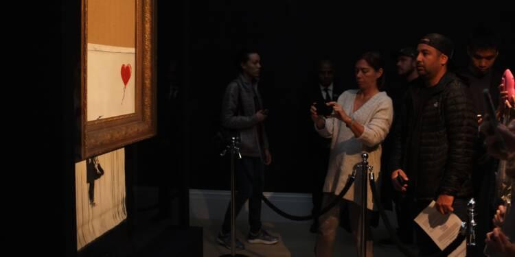 Vente d'oeuvres de Banksy à Paris: rien à signaler