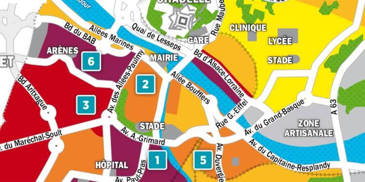 Immobilier à Bayonne : la carte des prix 2018