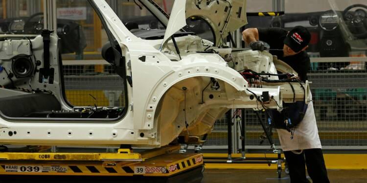 Production automobile britannique en baisse de 16,8% en septembre