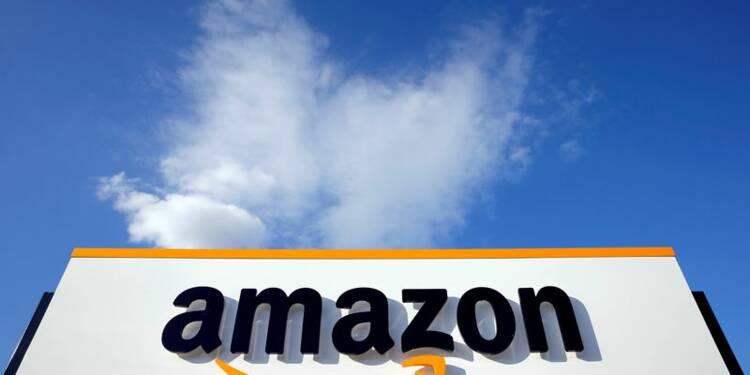 """Amazon et Alphabet déçoivent, les """"techs"""" chutent en Bourse"""