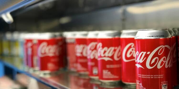 Coca-Cola fait recette avec ses sodas light, Wall Street apprécie