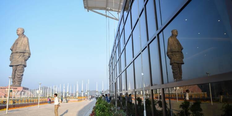 Inde : la plus haute statue du monde fait polémique