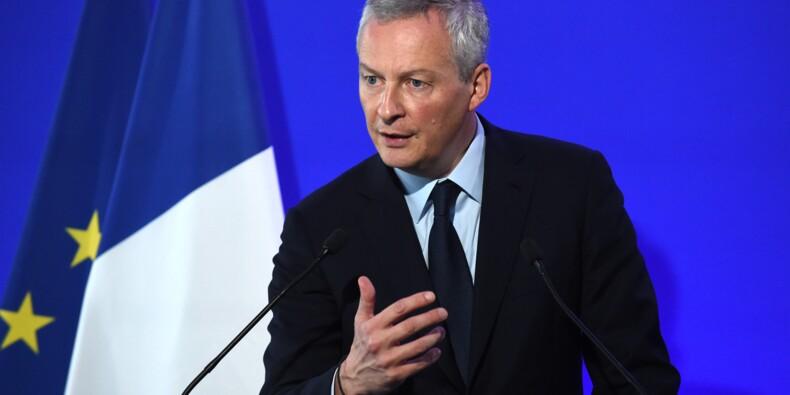 Taxation des Gafa: Le Maire reconnaît l'absence de solution pour le moment