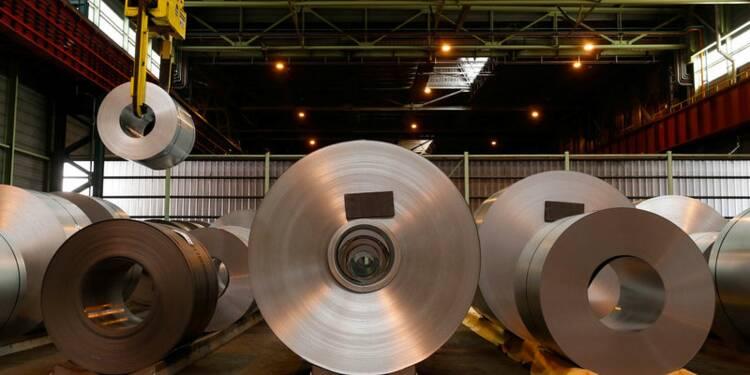 ArcelorMittal affiche son optimisme et profite des droits de douane