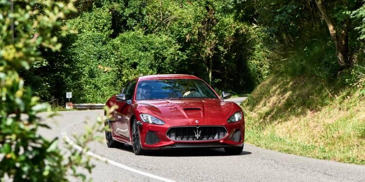 En Italie, un incendie réduit en cendres des centaines de Maserati