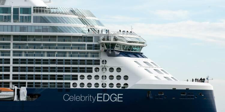 Le très spectaculaire Celebrity Edge quitte Saint-Nazaire