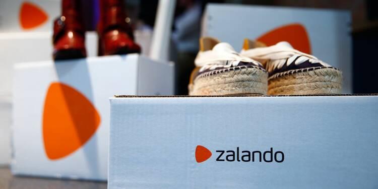 Zalando: Perte et croissance ralentie au 3e trimestre, le titre chute
