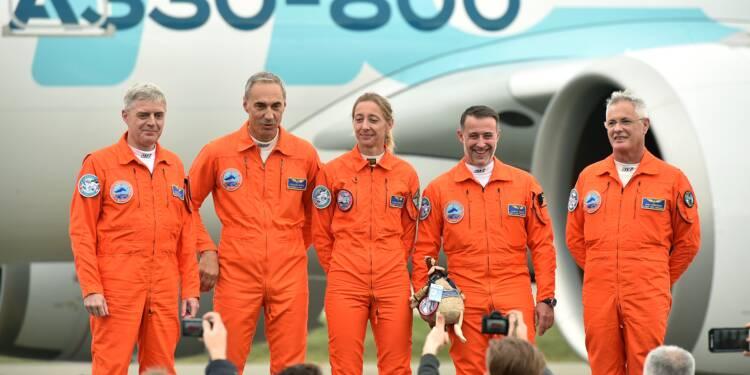 Premier vol réussi pour l'A330-800 NEO