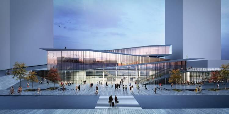 La future gare de Saint-Denis, une des villes qui profite le plus de l'arrivée du supermétro