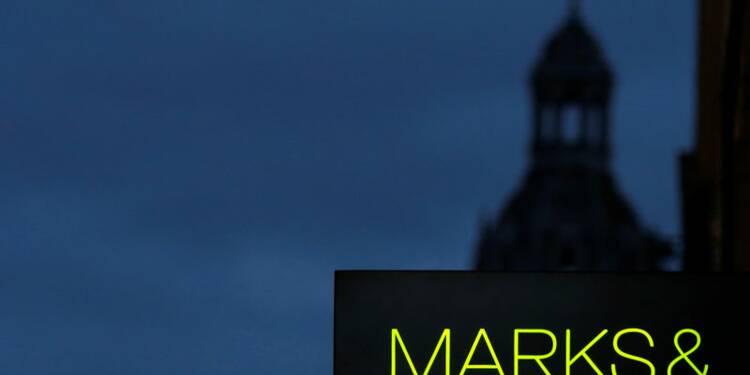 Marks & Spencer continue de souffrir avec des ventes en baisse