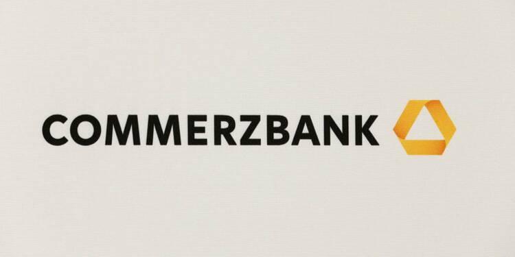 Commerzbank: Chute de 53% du bénéfice au 3e trimestre, objectifs maintenus