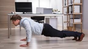 3 techniques pour muscler ventre et dos... au bureau