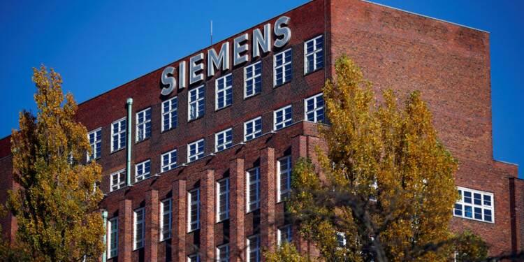 Siemens voit un environnement de marché favorable en 2018-2019