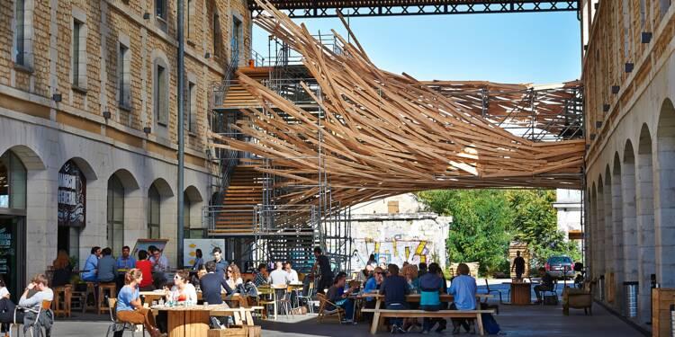 Bordeaux : Darwin, l'ancienne caserne où il fait bon travailler