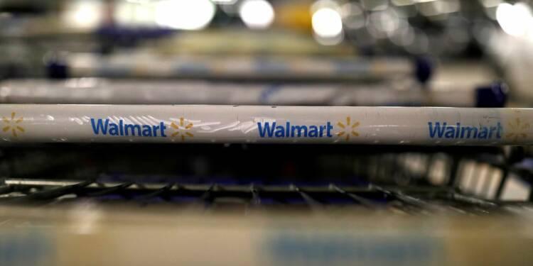 Les ventes de Walmart meilleure que prévu, l'e-commerce dynamique
