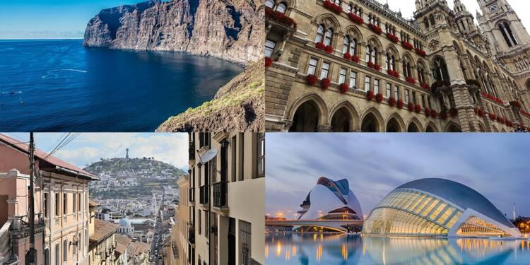 Vacances d'hiver : 9 nouvelles destinations au départ des aéroports français