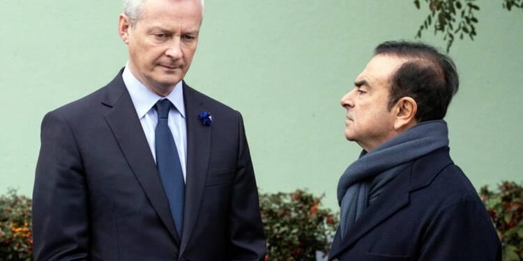 Ghosn: Le Maire veut une gouvernance intérimaire pour Renault