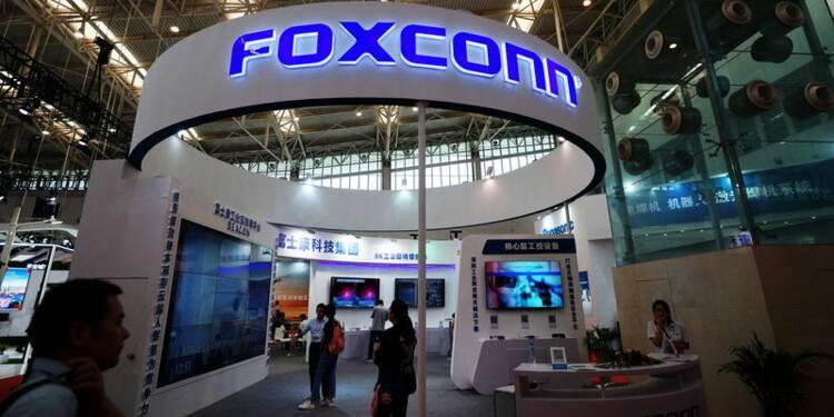 Foxconn veut réduire ses coûts en 2019, selon Bloomberg