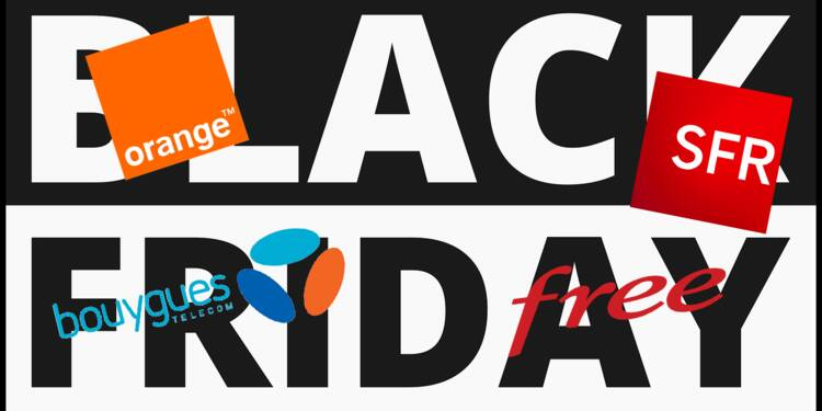 Black Friday : Orange, SFR, Bouygues, Free... toutes les offres des opérateurs mobiles