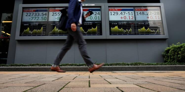 Le Nikkei à Tokyo finit en hausse de 0,76%