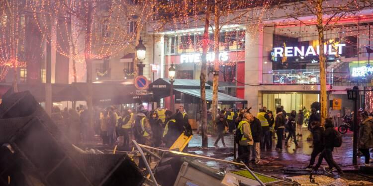 Gilets jaunes : le très gros préjudice de la boutique Dior des Champs-Élysées