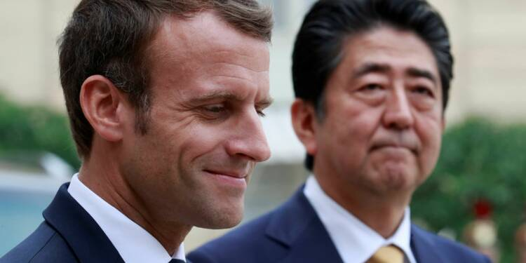 Renault-Nissan: Macron a rappelé à Abe son attachement à l'alliance et sa stabilité