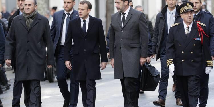 """Macron constate les dégâts et charge Philippe de recevoir chefs de partis et """"gilets jaunes"""""""