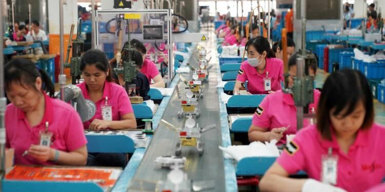 L'activité manufacturière rebondit à peine