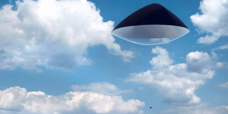 Zéphyr Solar, la centrale solaire volante