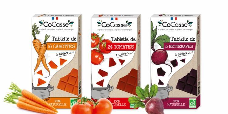 Goûterez-vous les tablettes... aux légumes ?