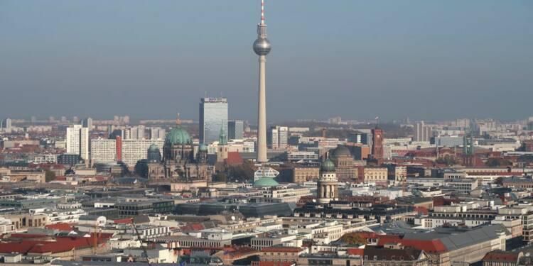Berlin abaisse la prévision de croissance de 2018