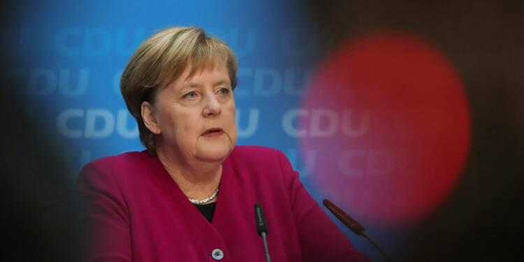 Angela Merkel soutient Emmanuel Macron face aux Gilets jaunes