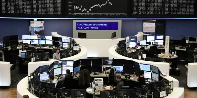 Clôture dispersée en Europe, Wall Street sans tendance