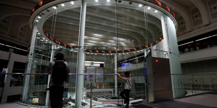 Tokyo en forte baisse, le Nikkei perd près de 5%